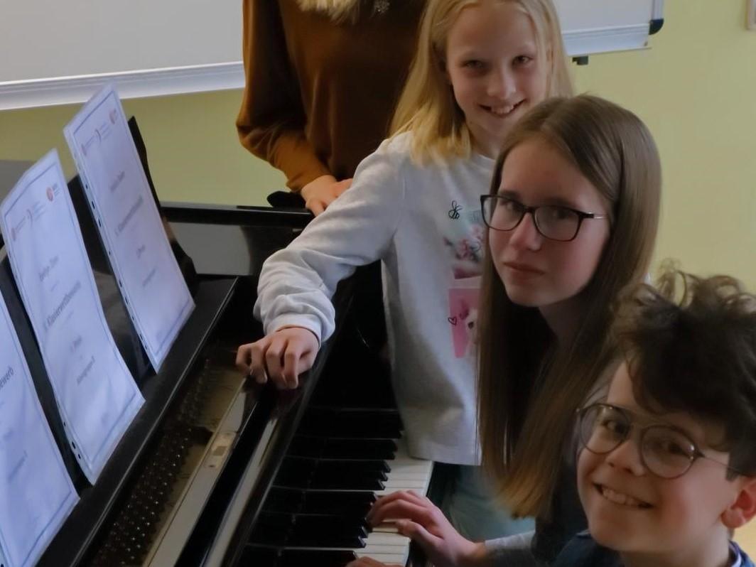 Preisträger des 5. Klavierwettbewerbs sind Schüler der Musikschule Vulkaneifel